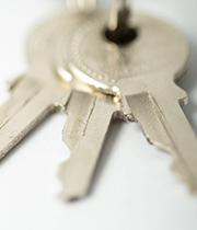 3枚のまとまった鍵