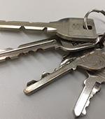 まとまった4本の鍵